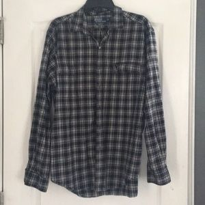 Plaid Polo Ralph Lauren button down shirt